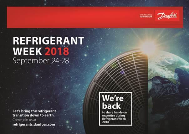 Refrigeranti a basso GWP alla Danfoss Refrigerant Week