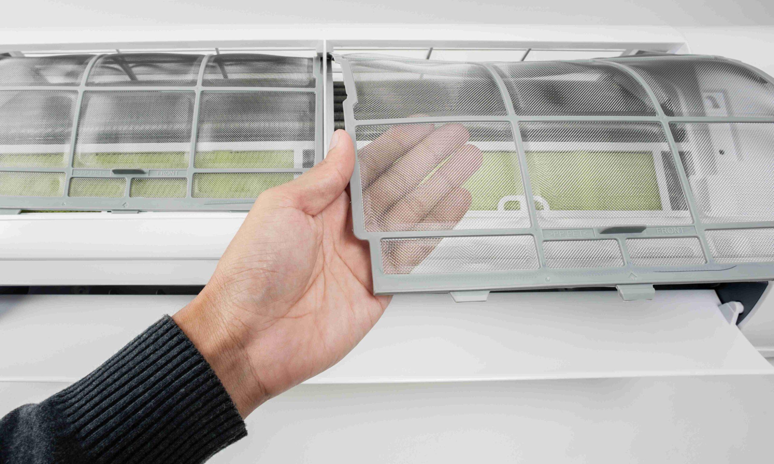 Perché pulire i filtri dei condizionatori?